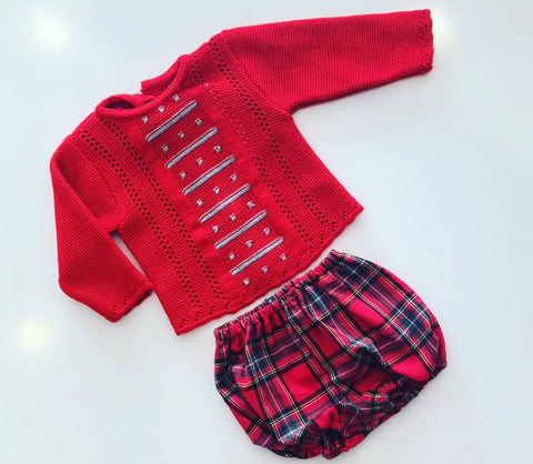 Arlo Checked Jam Pants Set