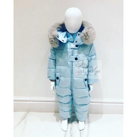 Blue Alfeo Snowsuit
