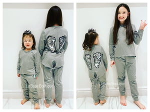 Grey Wings Tracksuit