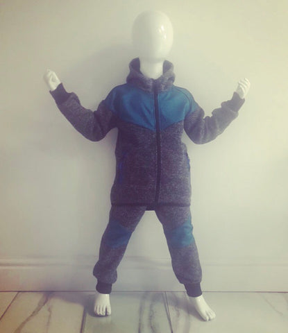 Blue Dax Tracksuit