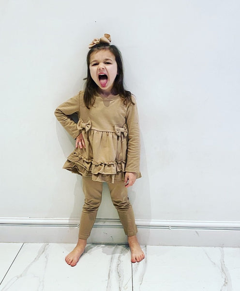 Camel Lolitta Leggings Set