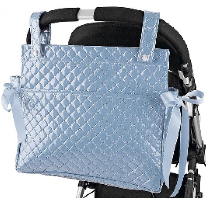 Blue Perla Baby Changing Bag