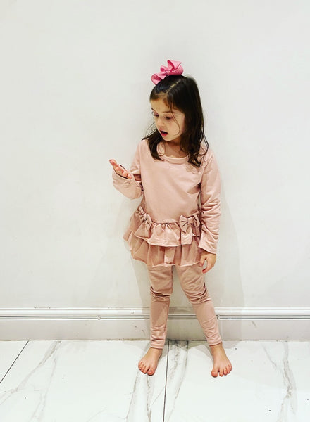 Pink Elodie Leggings Set