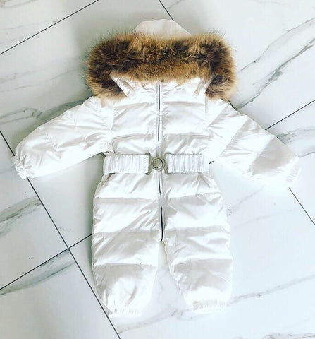 White Callisto Snowsuit