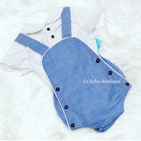 Pablo Romper & Shirt Set