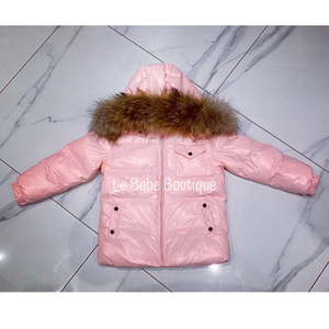 Pink Ailbe Padded Jacket