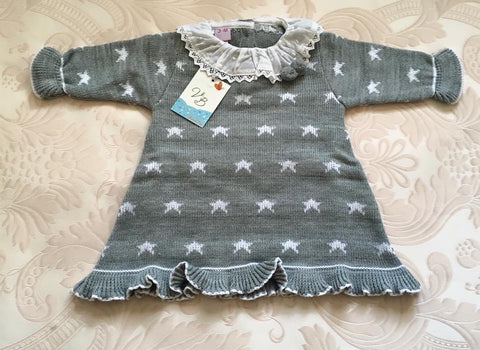 VB Grey Star Knitted Dress