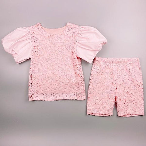Pink Kiara Shorts Set