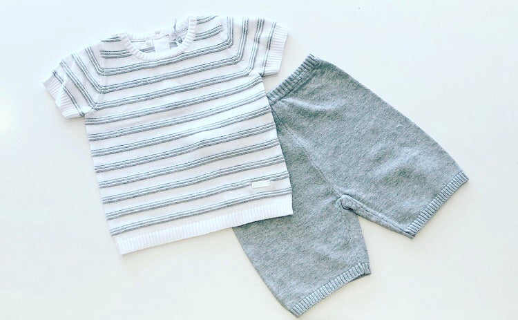 Kolby Knitted Shorts Set