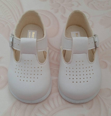 White George TBar Early Days First Walker Shoes