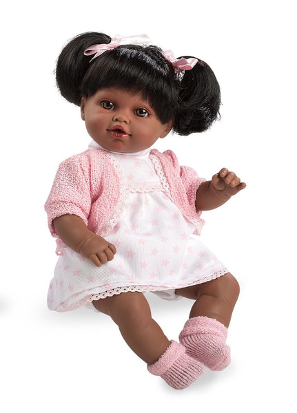 Spanish Girl 'Emma' Laughing Doll Pink