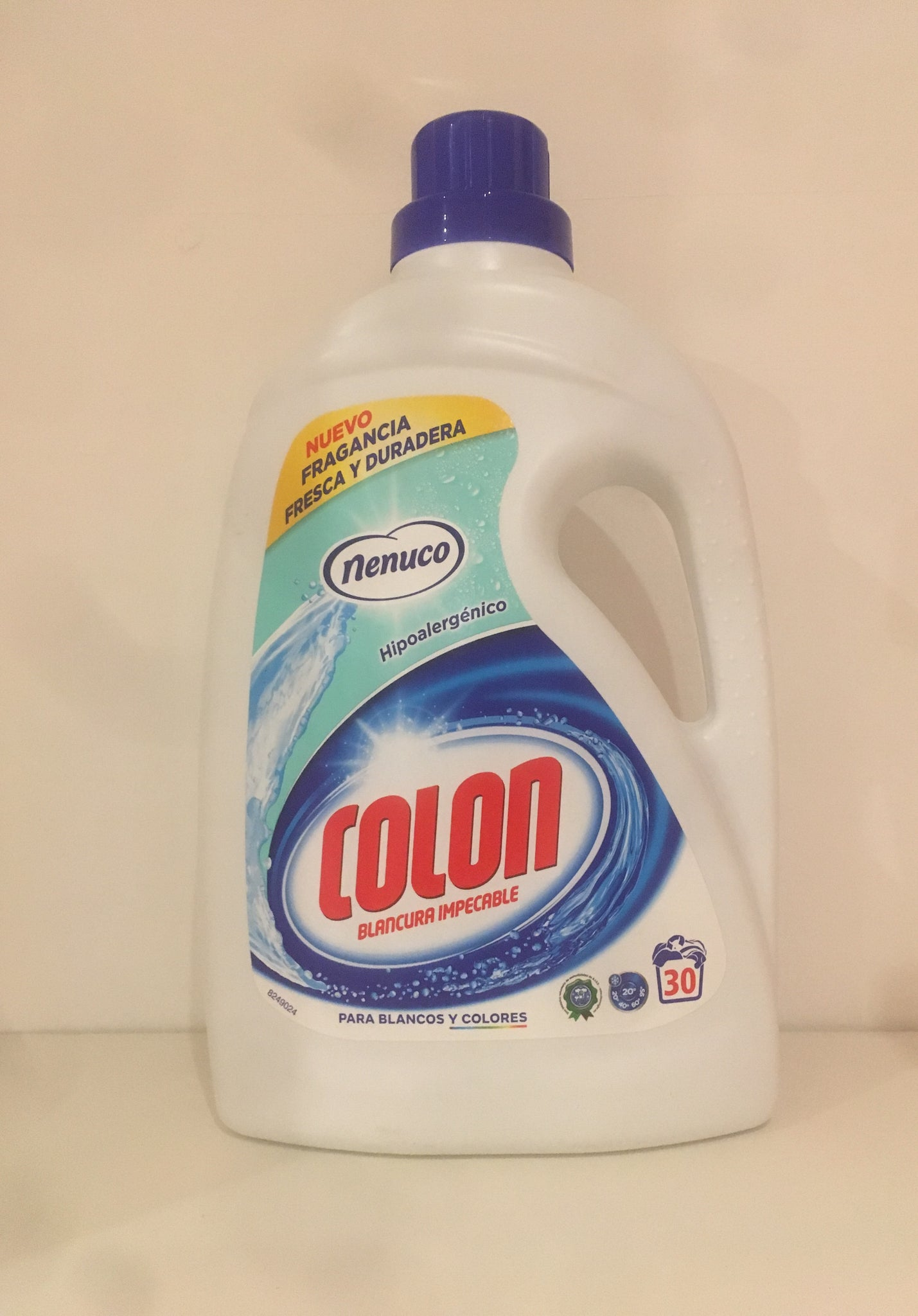 Nenuco Colon Washing Liquid 1.8L 30 Wash