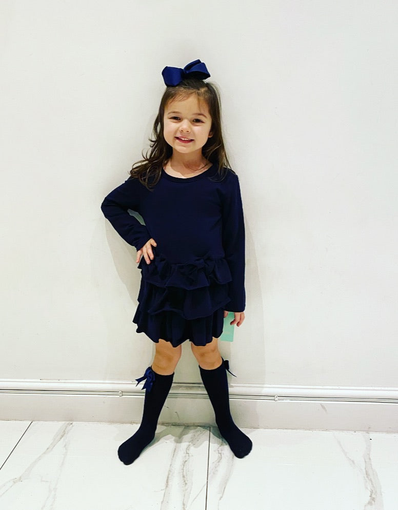 Navy Elodie Dress