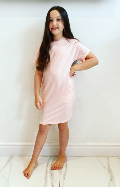 Pink Radella TShirt Dress