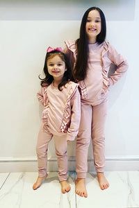 Pink Marnie Ruffle Tracksuit