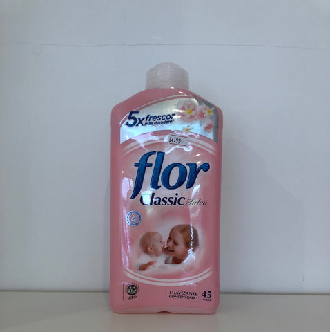 Baby Talc Flor Fabric Conditioner 1.1L 50 Wash