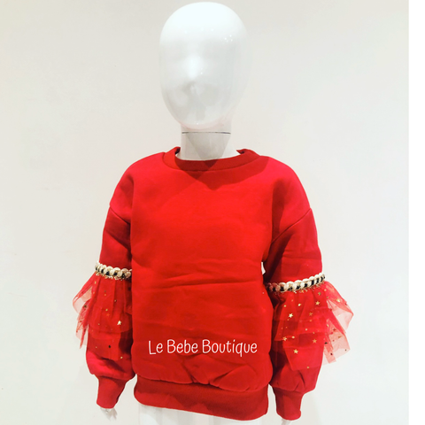 Red Maya Jumper