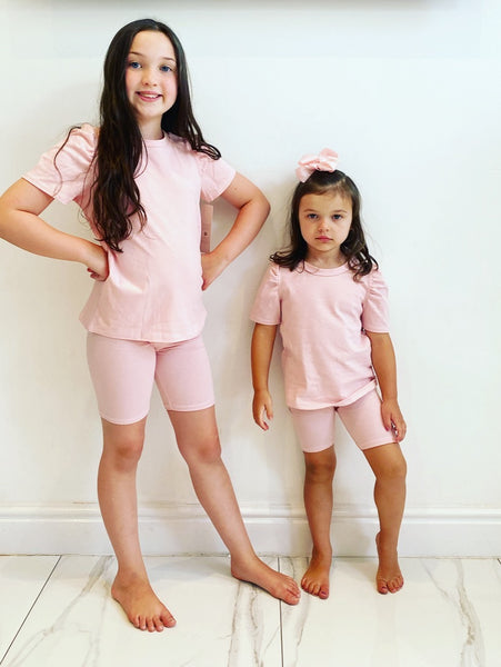 Pink Miah Shorts Set
