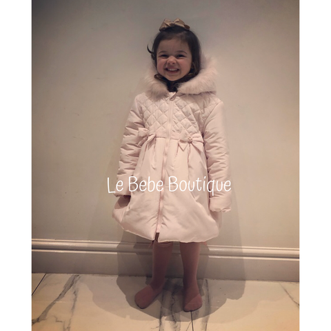 Pink Dolcie Bow Coat