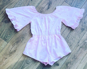 Pink Pearl Playsuit