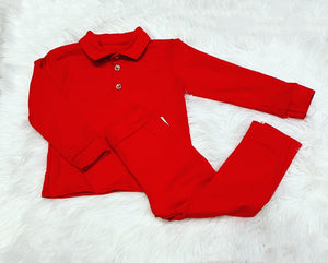 Red Georgie Tracksuit
