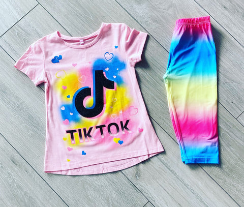Pink Tik Tok Summer Set