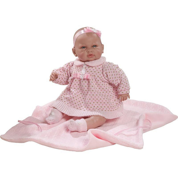Spanish Girl 'Sara' Crying Doll with Blanket