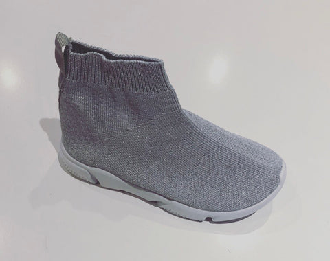 Grey Dallas Sock Trainers