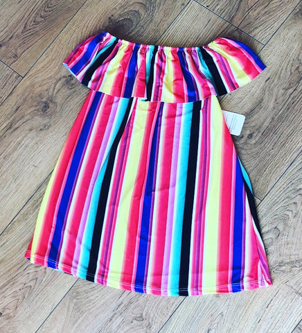 Rae Striped Dress