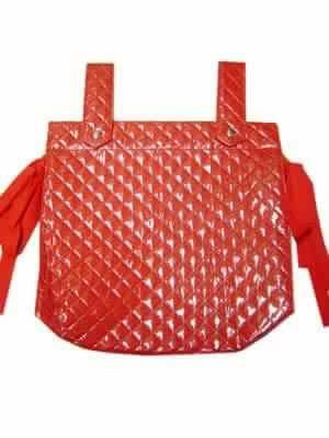 Red Perla Baby Changing Bag