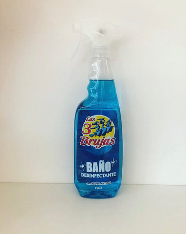 3 Brujas Bathroom Disinfectant Spray 750ml