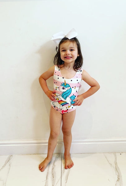Unicorn Swimming Costume