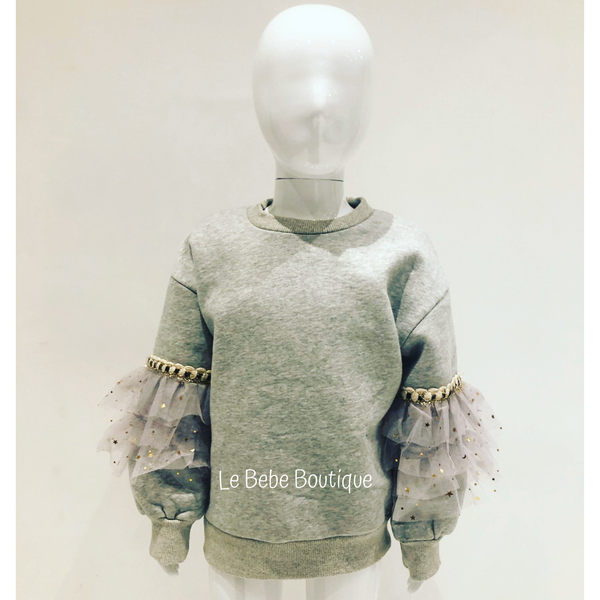 Grey Maya Jumper