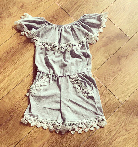 Grey Amelie Playsuit