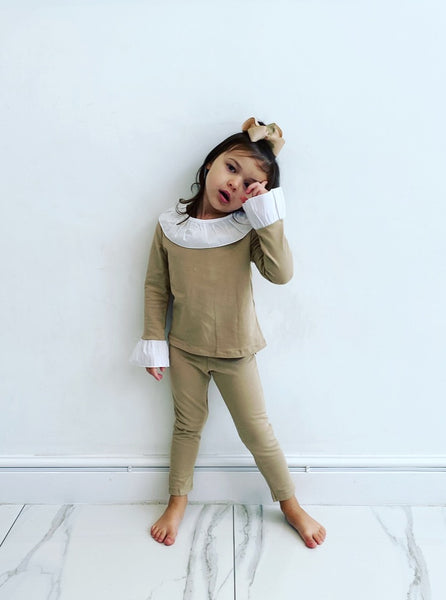 Camel Graca Leggings Set