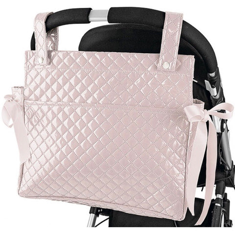 Pink Perla Baby Changing Bag