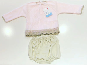 Pink Belicia Jam Pants Set