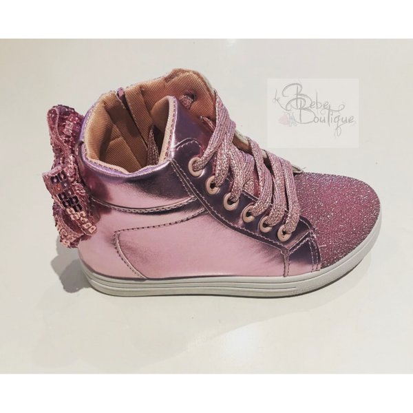 Lola Bow Back Hightops