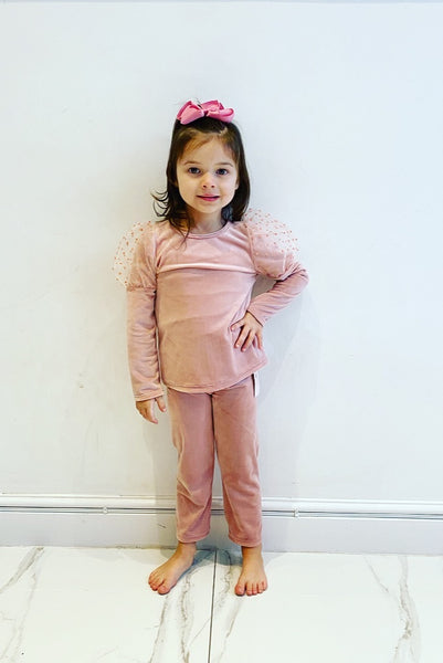 Pink Adelia Leggings Set