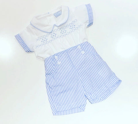 Conan Striped Shorts Set
