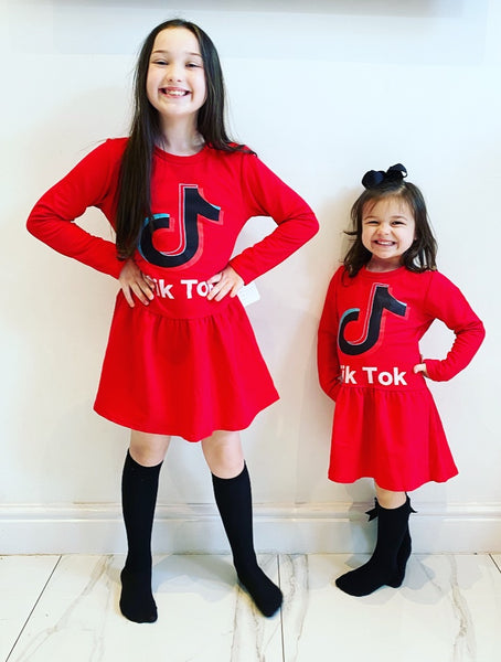 Red Tik Tok Dress