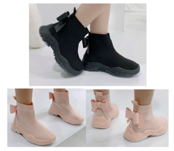 Almera Bow Sock Trainers