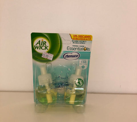 Air Wick Plug-In Nenuco Refills Double Pack