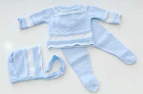 Socorro Knitted Pants Set