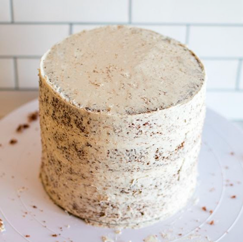 Apply a Crumb Coat | Cake Together | Birthday Cake Delivery