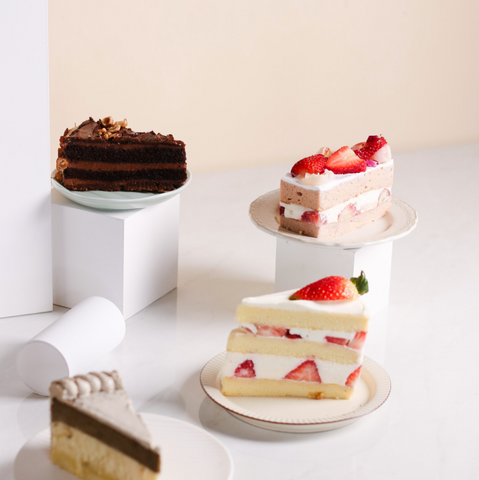 Cake Slices by Kooky Cream & Ennoble by Elevete | Cake Together