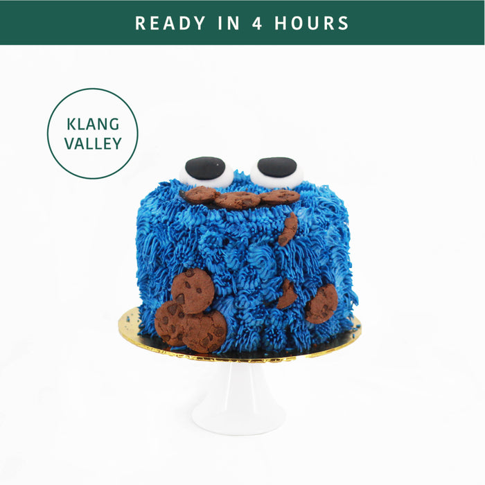 Cookie Monster - Cake Together - Online Birthday Cake Delivery