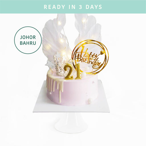 Princess Crown Angel Cake - Cake Together - Online Birthday Cake Delivery