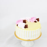 Rose Ice Cream Cake 5 inch