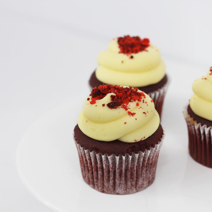 Red Velvet Cupcakes 12 pieces | Cake Together | Online Delivery